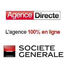 Le compte courant et le compte sur livret de l'Agence Directe